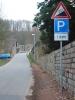 Zur Burg Kriebstein :: Beginn der Steigung in Kriebstein